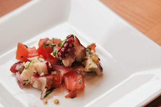 octopus ceviche