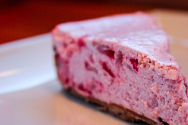souble goat cheese strawberry cheesecake