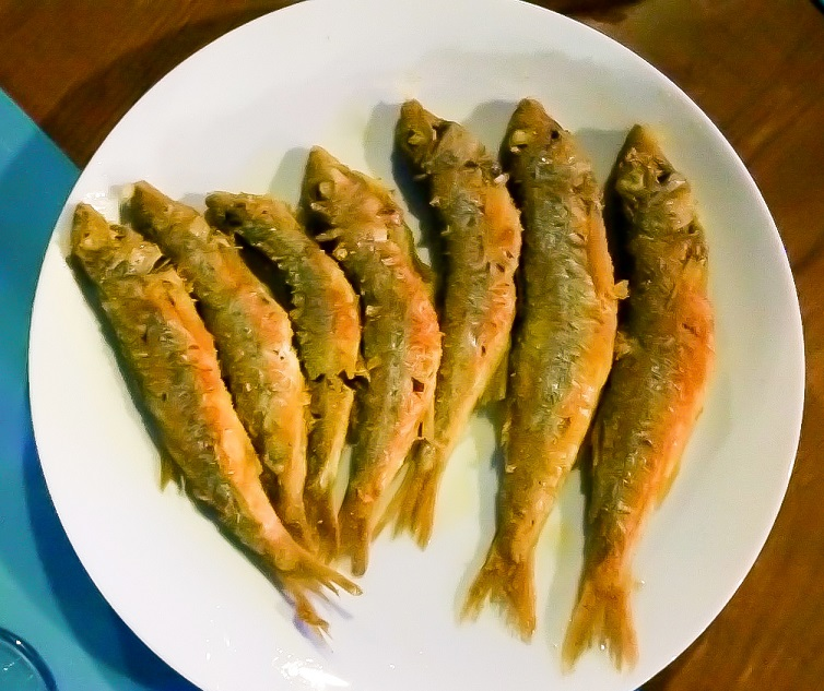 fried little fish